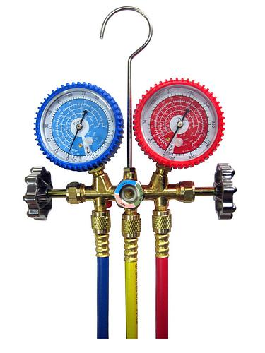 Professional Hvac Tools At Discounted Factory Direct Prices Sales Manifold Value R22 Single Gauge Accurate Lassis Forged Brass Set With All The Car Ac Tool Kit Quick Snap On Couplers To System Ports14 Mm And 16 R134a Can Tapper